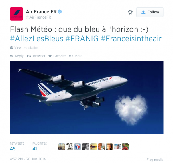 Air France Coupe du Monde