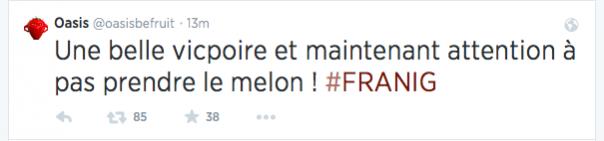 Oasis Be Fruit Coupe du Monde