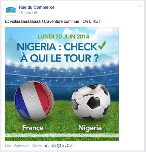 Rue du Commerce Coupe du Monde
