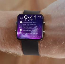 Apple iTime : Un brevet déposé de montre connectée