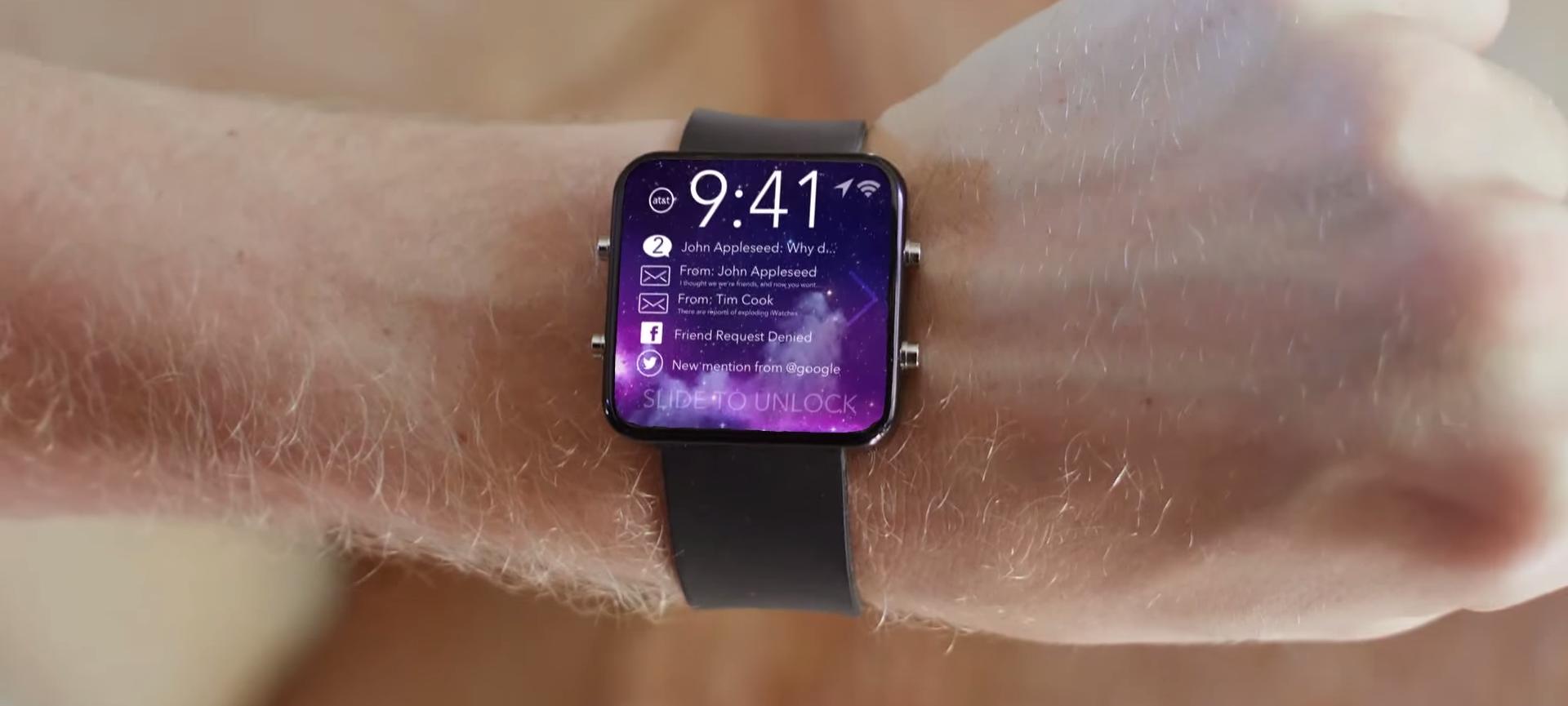 Apple iWatch : Montre connectée