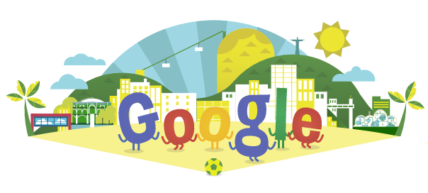 Google : Coupe du Monde 2014 de football en doodle