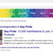 Google : Gay Pride 2014, le menu de recherche en couleurs