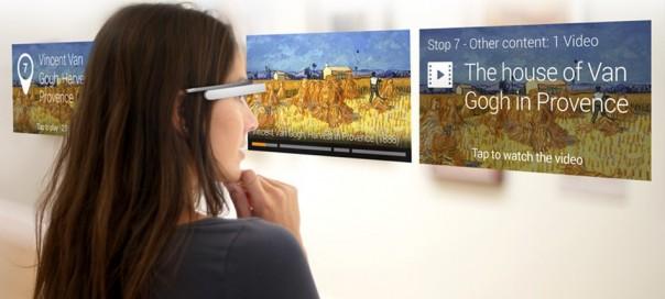 Google Glass : Les audioguides remplacés dans les musées