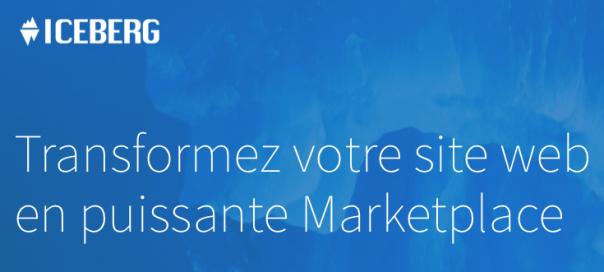 Iceberg Marketplace : Solution SaaS de place de marché en marque blanche