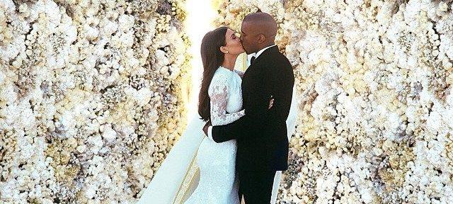 Instagram : Mariage de Kanye West & Kim Kardashian