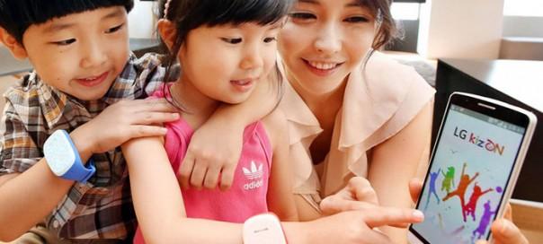 LG : Un bracelet connecté pour surveiller vos enfants