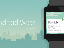 Capitaine Train : Android Wear