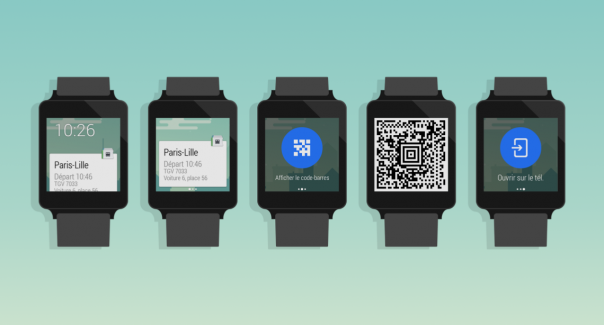 Capitaine Train : Android Wear & montre connectée