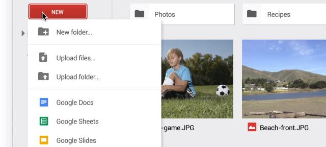 Google Drive : Nouvelle interface utilisateur