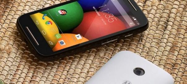Moto E : Test du smartphone entrée de gamme double sims de Motorola