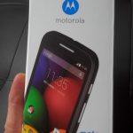 Motorola Moto E Boite