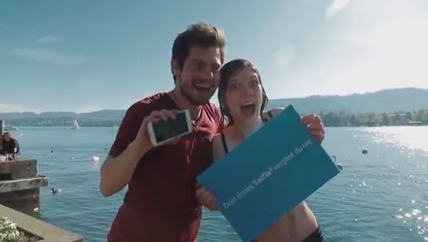 Selfie Samsung Galaxy S5