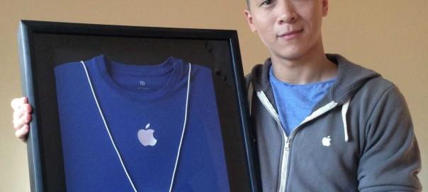 Sam Sung, un ancien de chez Apple récolte 2 653$ pour sa carte de visite