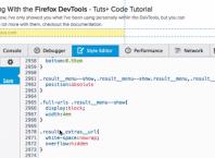 Firefox : Sélecteur CSS & noeud du DOM