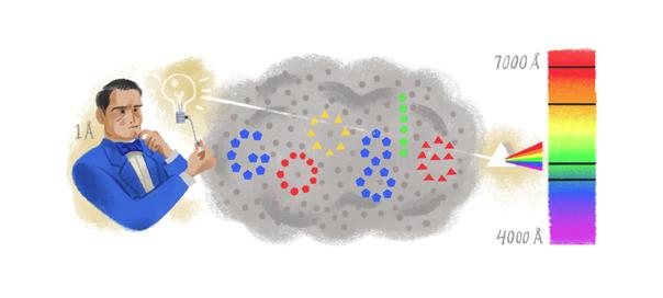 Google : Doodle Anders Jonas Ångström