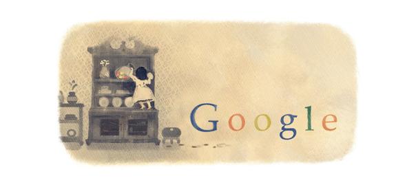 Google : Doodle Comtesse de Ségur