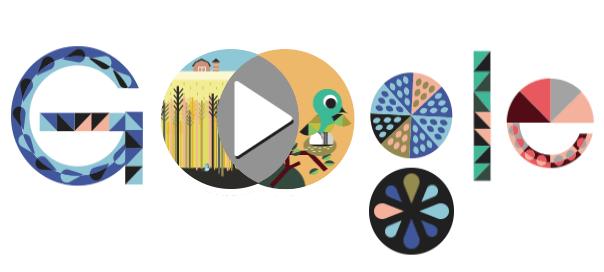 Google : John Venn et ses diagrammes en doodle animé