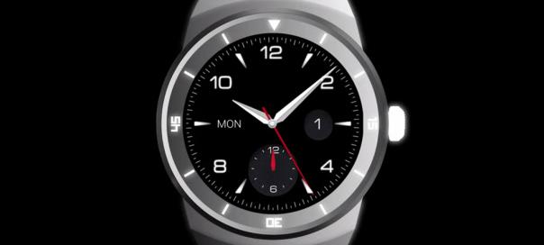 La montre connectée LG G Watch R disponible en France