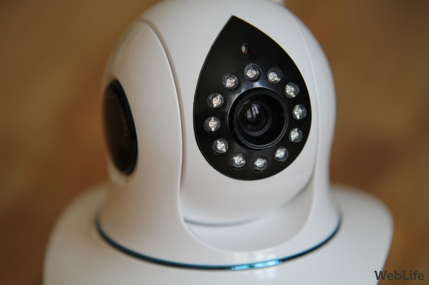 Novodio SmartCam HD : LEDS infrarouge