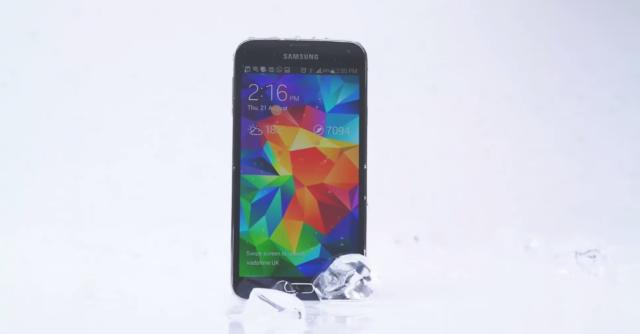 Ice Bucket Challenge Samsung Galaxy S5