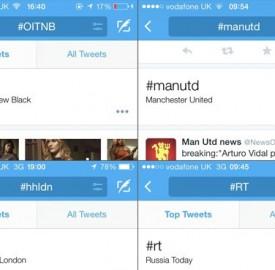 Twitter : Traduction des hashtags