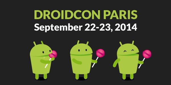 Droidcon Paris 2014
