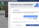 Facebook : Lancement de l'outil Privacy Checkup