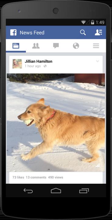 Facebook : Vidéo - Compteur de vues