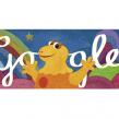 Google : Casimir, le dinosaure de l'Ile aux enfants en doodle