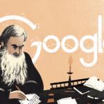 Google : Doodle Léon Tolstoï - Portrait initial