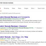 Google : Etoiles jaunes - Notation