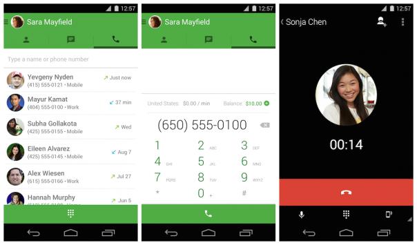 Google Hangouts : Appels téléphoniques