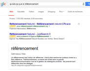 Google Knowledge Graph : Citation de la source d'information