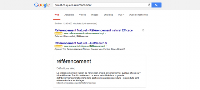 Google Knowledge Graph : Citation de source