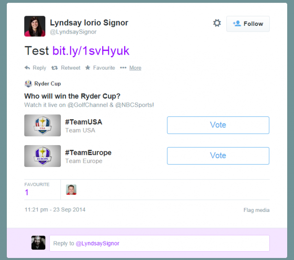 Twitter: Outils de sondageTwitter: Outils de sondage