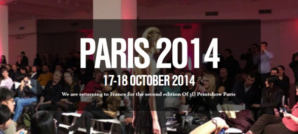 3D Printshow Paris 2014