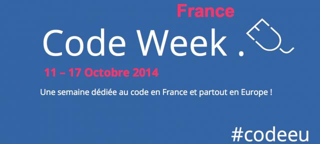 Code Week France 2014