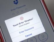 Dropbox : Identification avec son empreinte