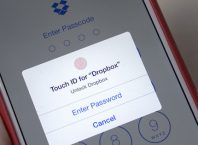 Dropbox & Apple Touch ID