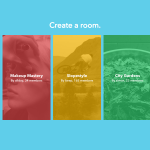Facebook Rooms : Création de la room