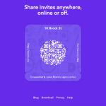 Facebook Rooms : Invitations