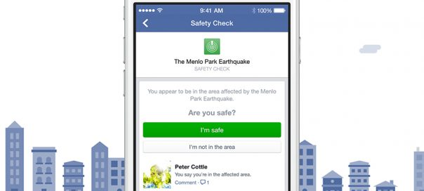 Facebook Safety Check : Rassurez vos proches en cas de catastrophe naturelle