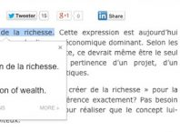 Google Chrome : Extension de traduction