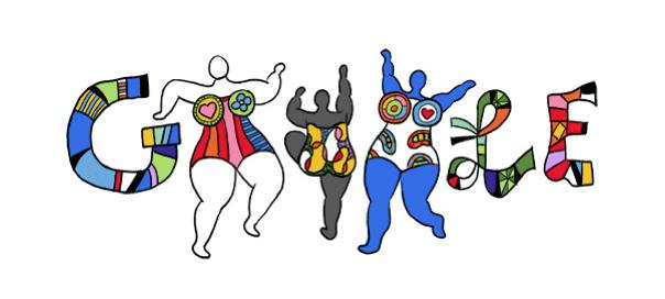 Google : Doodle Niki de Saint Phalle