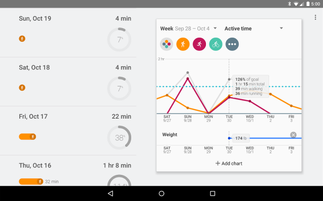 Google Fit Play Store