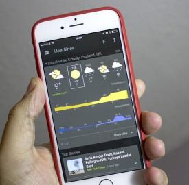 iOS : Google Actualités et Météo débarque dans une application