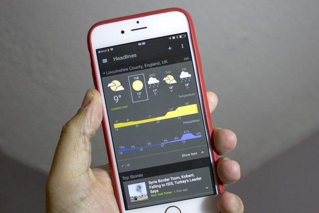 iOS : Google Actualité et Météo