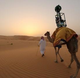 Google Street View : Des dromadaires pour photographier le désert