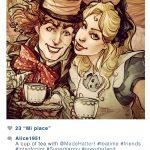 Instagram : Alice aux pays des merveilles